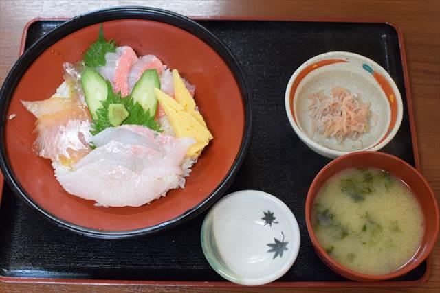 金目鯛の3色丼