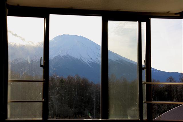 3階の富士山側からの眺め
