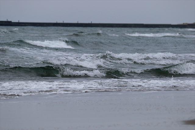 1月の新潟 日本海の荒波