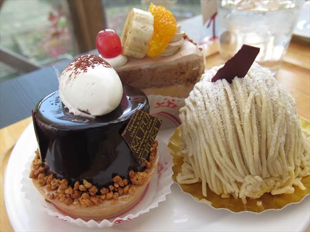 菓子工房風花(ふうか)のケーキ