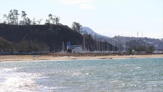 新潟県柏崎市番神海水浴場