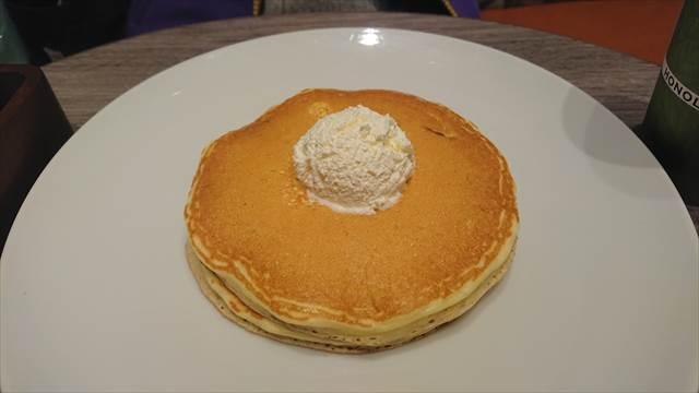 ホノルルコーヒーのパンケーキ