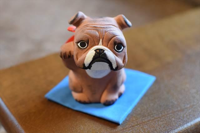 招き犬☆イングリッシュブルドッグ
