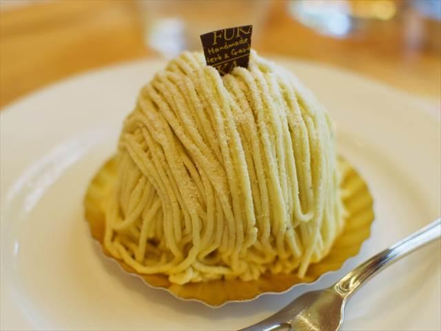 菓子工房 風花のモンブラン(茨木県産)
