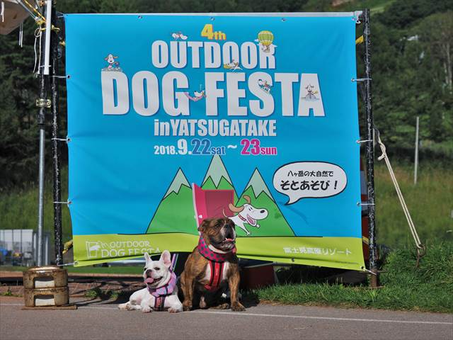OUTDOOR DOG FESTA in 八ヶ岳【富士見高原リゾート】