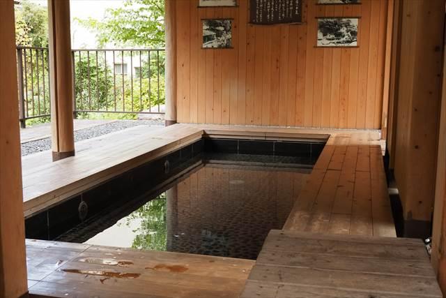 川治温泉の無料足湯