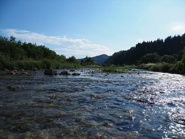 キャンプ場で川遊び【荒川】